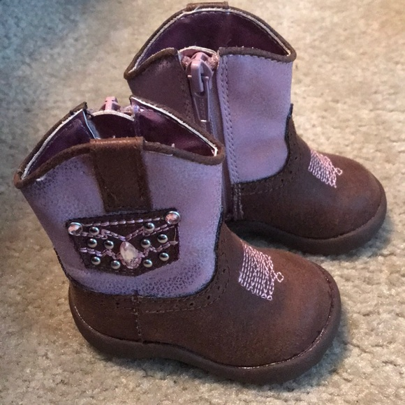 Roper Shoes | Baby Girl Cowgirl Boots